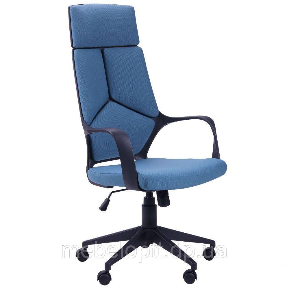 Кресло Urban HB черный, тк.синий - MebelOpt - первый мебельный интернет магазин в Киеве. в Киеве
