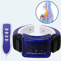 Массажер для шеи Neck Therapy Instrument PL-718A на батарейках