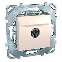 ТВ розетка сл.кость Schneider Electric - Unica (Шнейдер Электрик Уника mgu3.462.25)