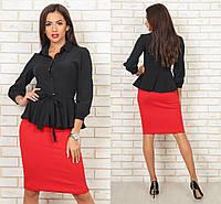 Рубашка женская с длинным рукавом,Ткань поплин, цвет белый ,супер качество оив №282