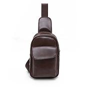 Мужская кожаная сумка. Модель 61244, фото 6