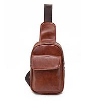 Мужская кожаная сумка. Модель 61244, фото 5