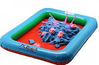 Надувная ванночка песочница