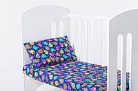 Постельное белье в детскую кроватку Индия