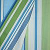 Ткань для шторы в детскую voklio полоски голубой-оливка/молочный
