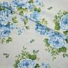 Ткань в стиле прованс regalizo розы голубые испания