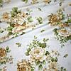 Ткань в стиле прованс regalizo розы бежевые испания