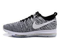 Кроссовки мужские Nike Zoom All Out Flynit Grey (найк) серые