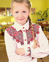 """Блуза """"Школярка"""" материал: батист (В.Р.Х.)"""