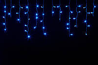 Гирлянда Бахрома светодиодная синяя 3,5 х 0,5м