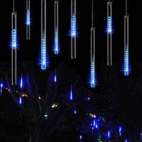 Гирлянда Сосульки светодиодная Синяя 3 метра