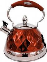 Чайник со свистком Bohmann 3,5 red