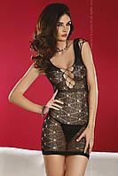 Сексуальное ажурное платье-сетка Daksha от TM Livia Corsetti (Польша) Размер S/L