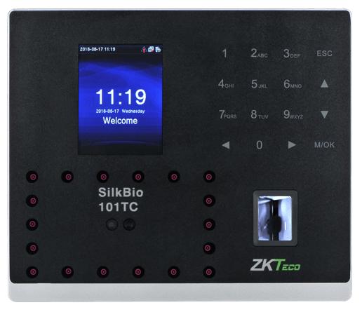 Мульти-биометрическая система учета времени работы ZKTeco SilkBio-101TC