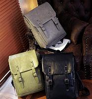 Мужской кожаный рюкзак. Модель 61246, фото 3