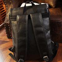 Мужской кожаный рюкзак. Модель 61246, фото 2