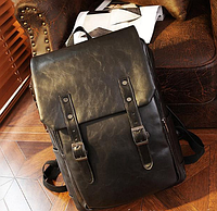Мужской кожаный рюкзак. Модель 61246, фото 5
