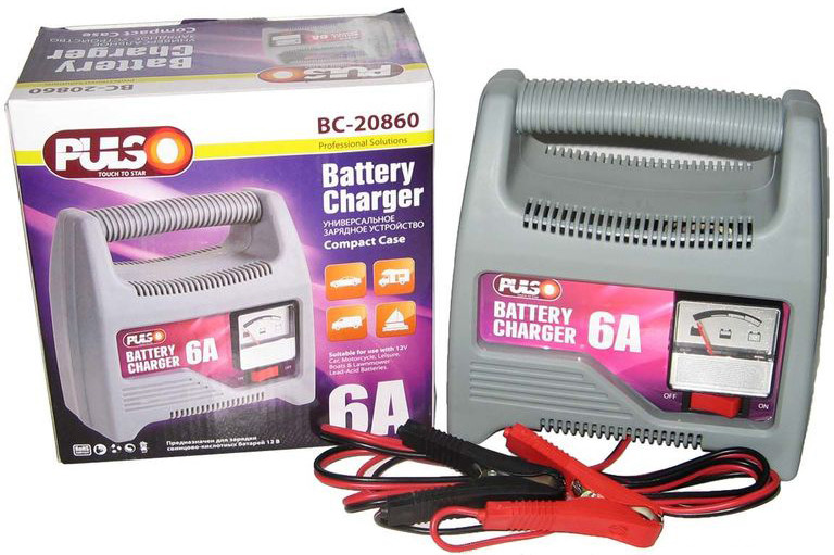 Зарядное устройство Pulso BC-20860 12V/6A 20-80 А*ч