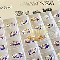 Бусина Сваровски 5728 Crystal AB 12х8,5мм *1шт, фото 1