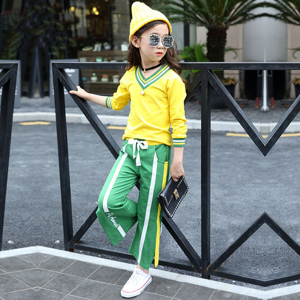 Детский спортивный костюм широкие штаны