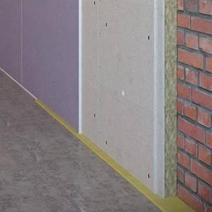 Бескаркасная звукоизоляция стен и потолков