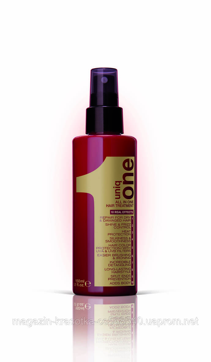 Uniq One Care відновлююча сироватка для всіх типів волосся