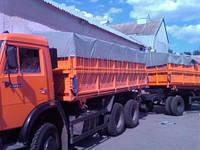 Автотенты на грузовое авто, зерновоз