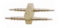 Соединитель Lemanso LD117 для LED ленты 5050 220V