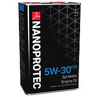 Синтетическое моторное масло NANOPROTEC ENGINE OIL 5W-30 FOD  4л