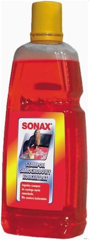 Автошампунь для мойки автомобиля SONAX Shampoo 1л