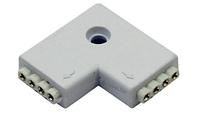 Соединитель для светодиодный ленты угловой Lemanso 3528 220V / LM818