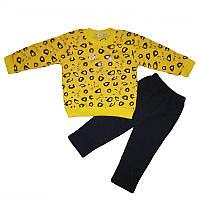 Костюм для девочки 80-92 кофта+штаны арт.17316