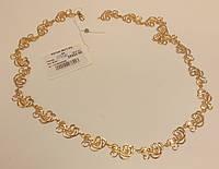 Золотое Колье, вес 25.64 грамм, 55 см.