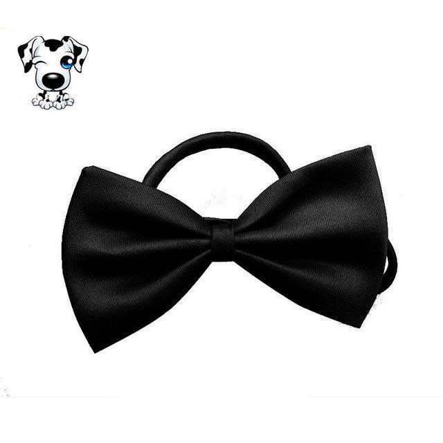 Бабочка ошейник для собаки или кошки черная