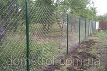 Дачный забор из рабицы, фото 3