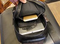 Мужская кожаная сумка. Модель 61249, фото 7