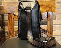 Мужская кожаная сумка. Модель 61249, фото 8