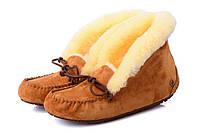Женские  UGG Alena  Chestnut, женские угги австралия мокасины зимние коричневые  оригигал