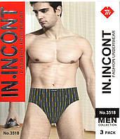 Плавки мужские IN.INCONT разные цвета и размеры в упаковке  ТМП-60