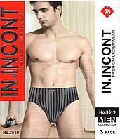 Плавки мужские IN.INCONT разные цвета и размеры в упаковке  ТМП-61