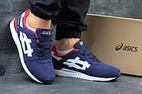 Мужские кроссовки Asics Gel-Lyte III синие 2953