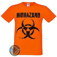 Футболка BIOHAZARD оранжевая