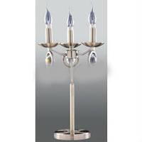 Торшер настольный свеча (лампа торшер свеча) бронзовый 3*E27 ,Buko