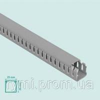 Кабель канал пластиковый (короб для кабеля пластиковый) серый 25*40,Mutlusan