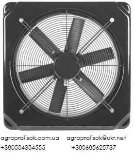 Осевые вентиляторы Deltafan 355/R/3-6/35/230 однофазные