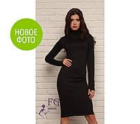 Платье гольф Podium - размеры 48, 50 Черное, Бордовое, Серое