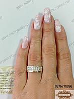 Серебряное кольцо №17н