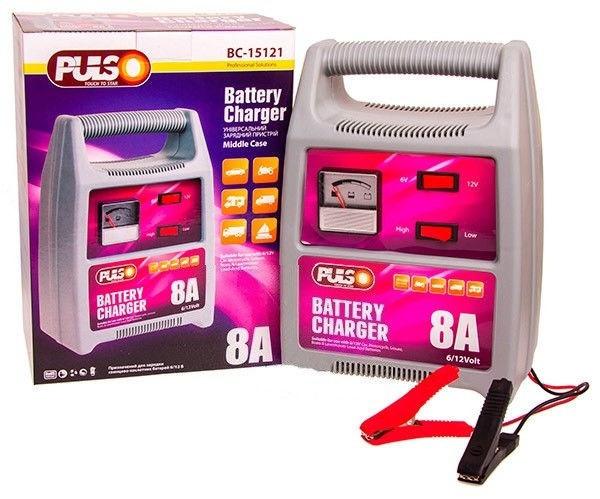 Зарядное устройство Pulso BC-15121 6-12V/8A 15-120 А*ч