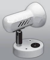 Спот направляемый светильник (спот светильник направленного света) с выключателем белый E27 100w,Watc