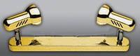 Спот направляемый светильник (спот светильник направленного света) золотой E27 2*100w,Watc